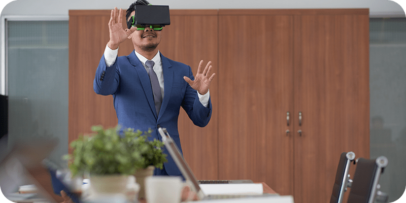 Virtual Reality Business Meetings